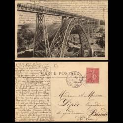 15 - Viaduc de Garabit près de Saint Flour vers 1900