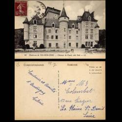 15 - Vic sur Cere - Chateau de Pestel coté sud