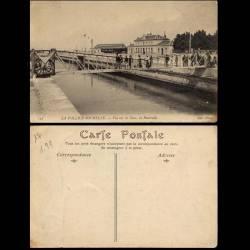 17 - La Pallice-Rochelle - Vue sur la gare - La passerelle - Animée