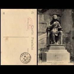 18 - Bourges - Statue de Louis XI