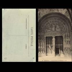 18 - Bourges - Portail sud de la cathedrale