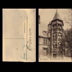 18 - Bourges - La cour du petit lycee