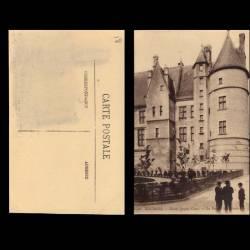 18 - Bourges - Le palais Jacques Coeur - Facade Méridionale