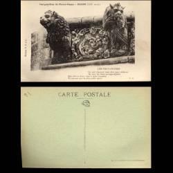 21 - Dijon - Gargouilles de Notre dame - Les Faux-Freres