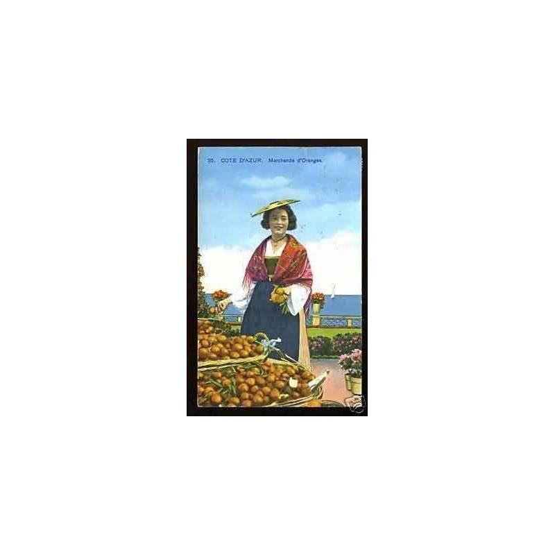 06 - Cote d'Azur - Marchande d'Oranges