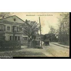 93 - Montfermeil - Descente des Coudreaux - Voiture