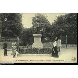 95 - Montmorency - Statue de J.J. Rousseau