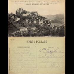 24 - Chateau féodal de Beynac - Vallée de la Dordogne et chateau de Fayrac