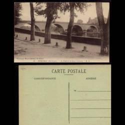 24 - Bergerac - Le pont et le quai Silvette