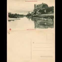 26 - Environs de Valence - Chateau de Chateaubourg