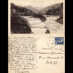 32 - Environs d'Ax les Thermes - Chute de l'Ariège au Castelet