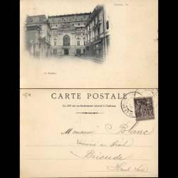 37 - Tours - Le théatre - 1900