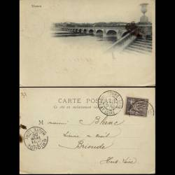 37 - Tours - Les quais - 1900