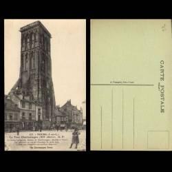 37 - Tours - La tour Charlemagne - Animée