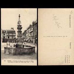 37 - Tours - Fontaine de Beaune en marbre de Genes