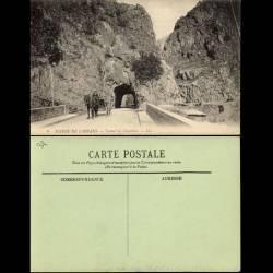 38 - Massif de l'Oisans - Tunnel de Chambon - Attelage