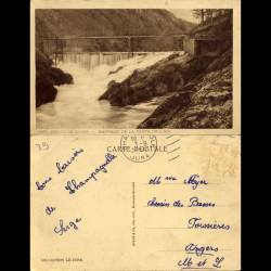 39 - Bourg de Sirod - Barrage de la perte de l'Ain