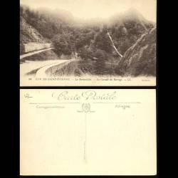 42 - Environs de Saint Etienne - La Rochetaillée - La cascade du barrage
