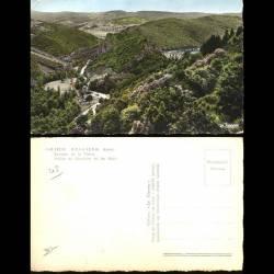 42 - Renaison - Barrage de la Tache - Vallée du Renaison et les Noes