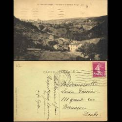 42 - Rochetaillée - LVue prise de la route du barrage