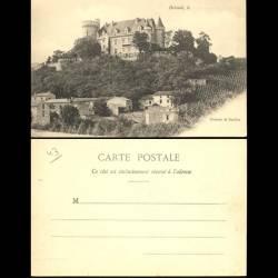43 - Brioude - Le chateau de Paulhac - Dos non divisé