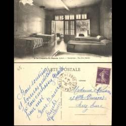45 - La chapelle Saint Mesmin - Sanatorium - Vue d'un dortoir
