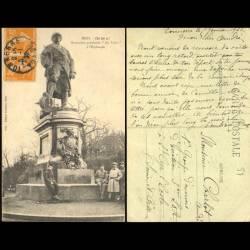 57 - Metz - On les a ! Monument provisoire Au Poilu à l'esplanade
