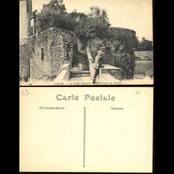 53 - Laval - La tour Renaise et le chemin de ronde