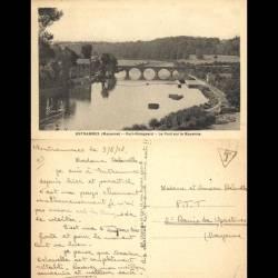53 - Entrammes - Port Rhingeard - Le pont sur la Mayenne