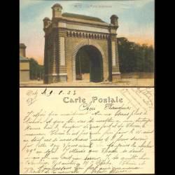 57 - Metz - La porte Serpenoise