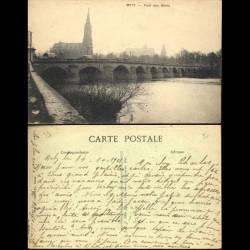 57 - Metz - Pont des Morts