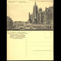 57 - Metz - La cathédrale et la place d'armes