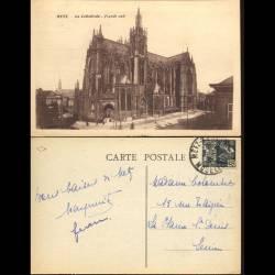 57 - Metz - La cathédrale facade Sud