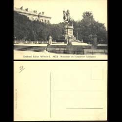 57 - Metz - Monument de l'empereur Guillaume