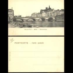 57 - Metz - Mittelbrücke - Moyen Pont