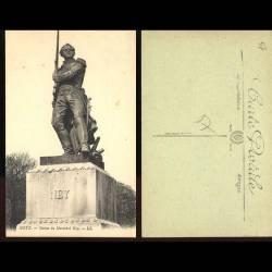 57 - Metz - Statue du maréchal Ney