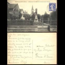 58 - neuvy sur Loire - Monument aux Morts