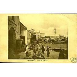 Maroc - Casablanca - Porte de la marine