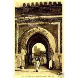 Maroc - Fes - Entree du grand Mechouar - Porte est