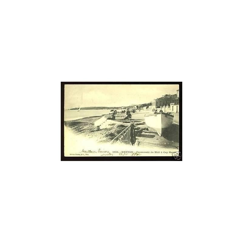 06 - Menton - Promenade du midi et Cap Martin