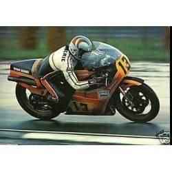 Rougerie sur Suzuki a Silverstone 1978 - CPSM