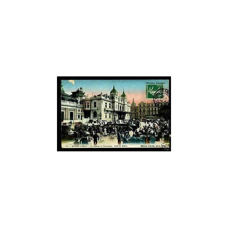 06 - Monte-Carlo - Le casino et Terrasses Cafe de Paris