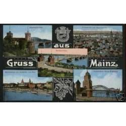 ALLEMAGNE - GRUSS AUS MAINZ - 5 VUES