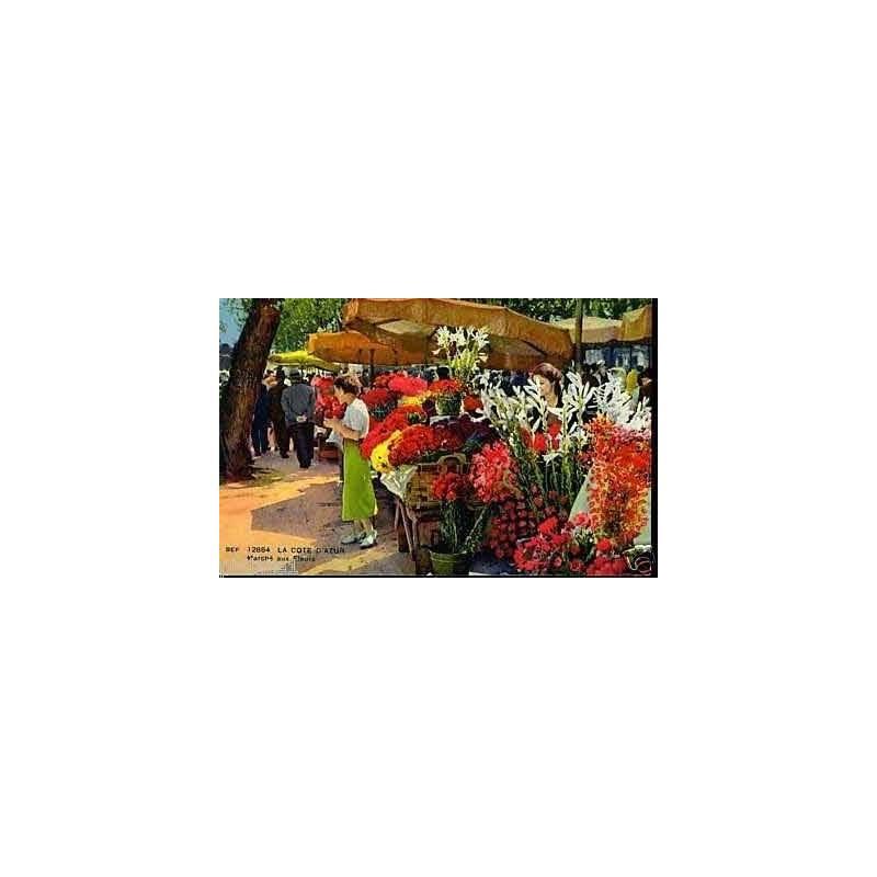 06 - Nice - Le marche aux fleurs