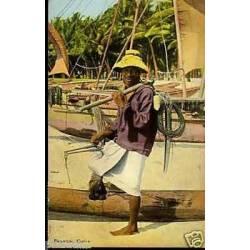 Ceylan - Ceylon Fisherman - 1937