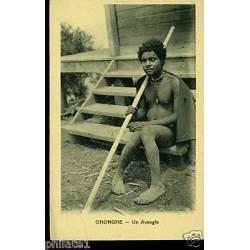 Papouasie/Nelle Guinée - Ononghe - Un aveugle