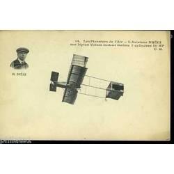 L'aviateur Bregi sur biplan Voisin