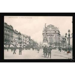 BELGIQUE - BRUXELLES - LA PLACE DE BROECKERE