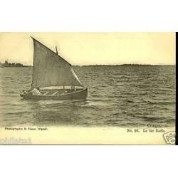 Congo - Voilier sur le lac Baffo