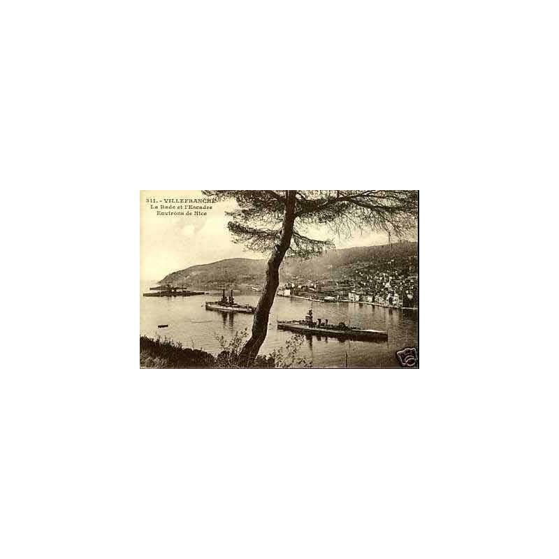 06 - Villefranche sur mer - La rade et l'escadre